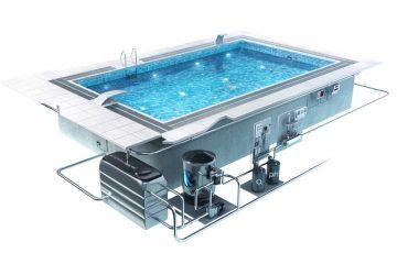 Разновидности оборудования для бассейнов