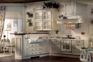 кухня в классическом прованс