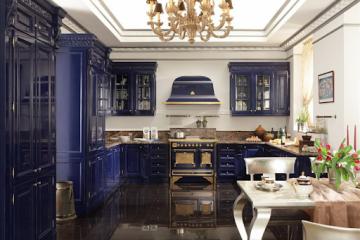 кухня в стиле арт деко 2019