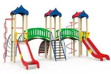 Детские спортивно-игровые комплексы для дома и дачи