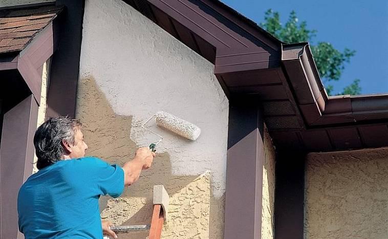 О фасадных красках и технологии покраски