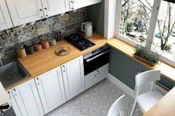 кухня в хрущовке