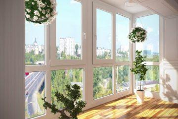 Делаем панорамный балкон с видом на город