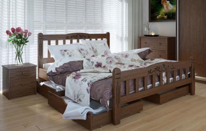 кровать Луизиана люкс + ящики