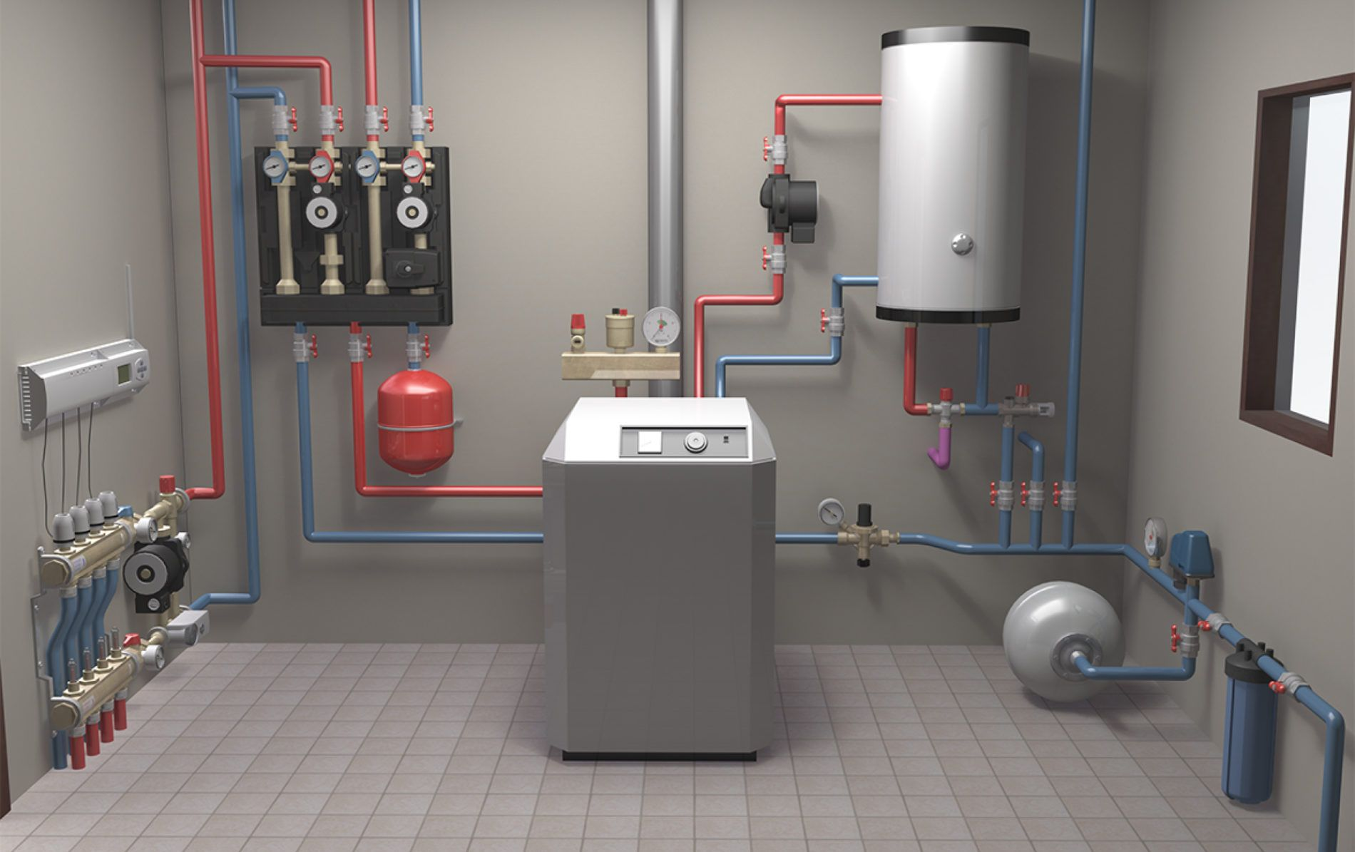 Оборудование, что нужно установить в доме ДЛЯ отопления
