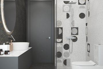 Серия Мари Эрми - Керамин - длитка для ванной комнаты