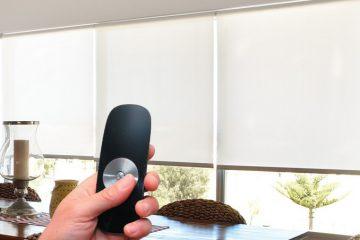 Выбираем автоматические рулонные шторы