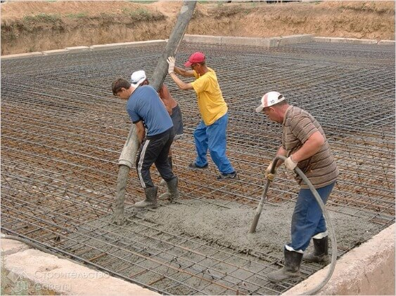 абразивный шланг заливка бетона