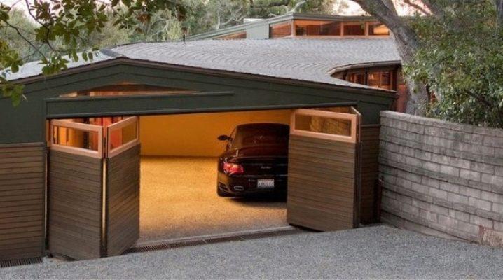 Складывающиеся гаражные ворота