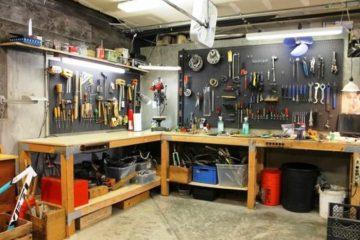 Какие инструменты должны быть в гараже