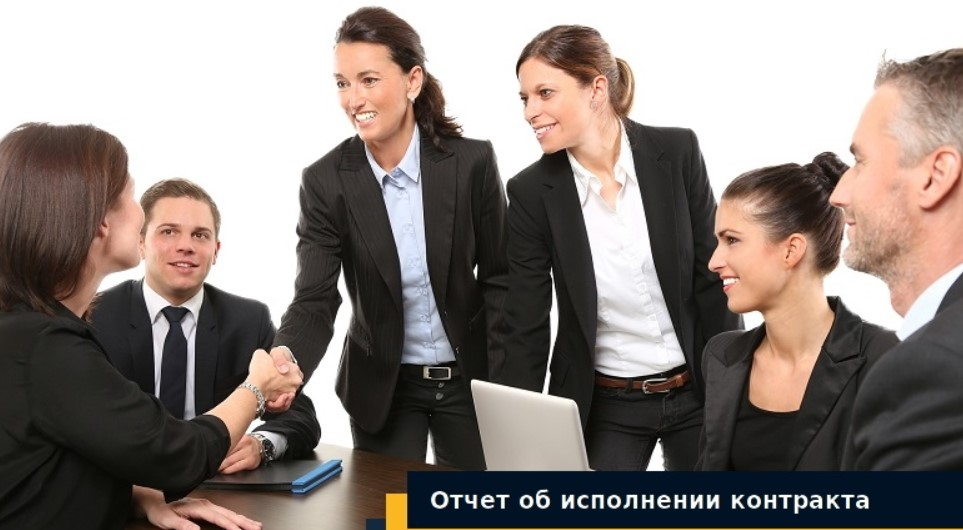 отчет об исполнении контракта