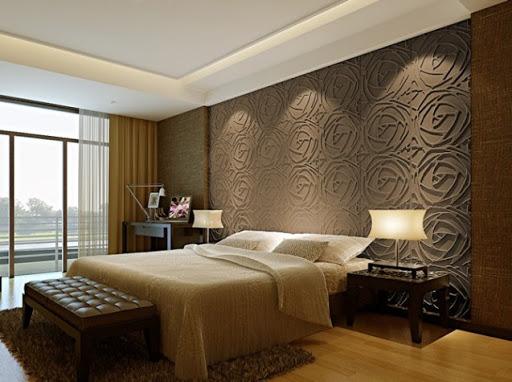 3d панели для спальне гипсовы
