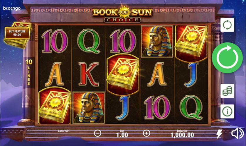 Ігровий слот Book of Sun