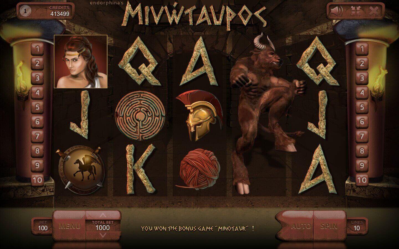 Minotaurus (Мінотавр) - грати в онлайн слот
