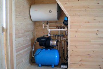 как подключить насосную станцию - вода в доме